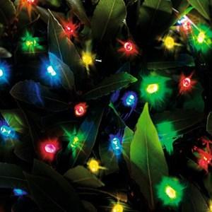 Изображение Гирлянда на батарейках 96 LED разноцветная  9,6м