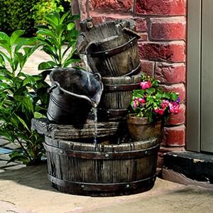 Изображение Фонтан Cascading Barrels 57 * 39 * 35см