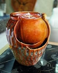 Изображение Фонтан интерьерный Ceramic Jar 23*20*19см