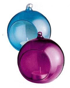 Изображение Подсвечник для чайной свечи 10 * 10,5 см цвет в ассортименте