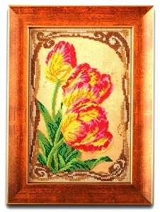 Изображение Бархатные тюльпаны