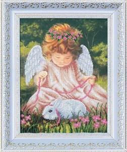 Изображение Ангел с кроликом