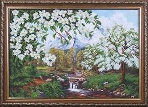 Изображение Яблони в горах