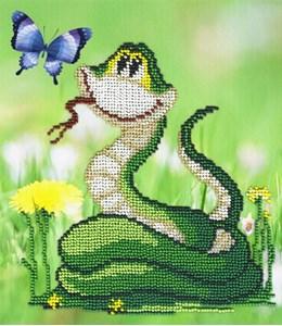 Изображение Змейка с одуванчиком