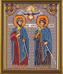 Изображение Икона Святые Борис и Глеб