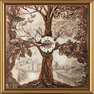 Изображение Дерево - часы