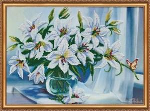 Изображение Белые лилии