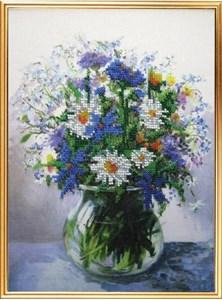 Изображение Акварельные цветы. Летний букет
