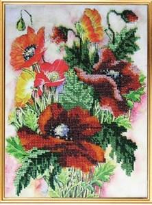 Изображение Акварельные цветы. Маки
