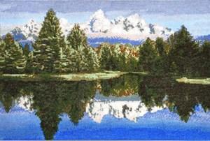Изображение Горное озеро