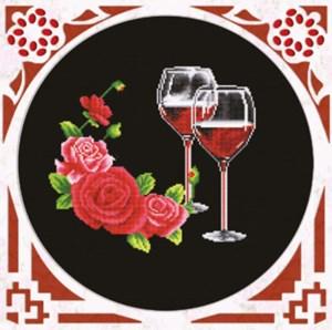 Изображение Розовое вино