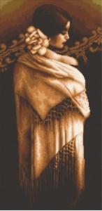 Изображение Девушка с шалью