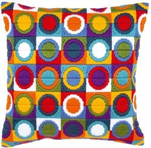 Изображение Красочные круги (подушка) (Colourful Circles)