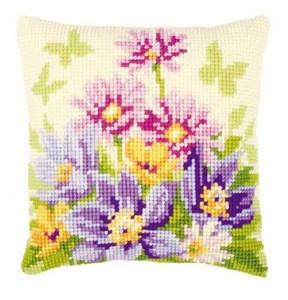 Изображение Цветы в пастельных тонах (подушка) (Pastel Flowers)