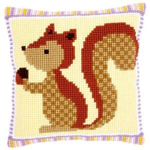 Изображение Белка с желудем (подушка) (Squirrel with Acorn)