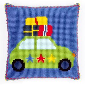 Изображение Отдых на машине (подушка) (Holiday by Car)