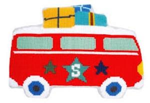 Изображение Отдых на автобусе (подушка) (Holiday by Bus)