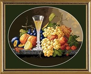 Изображение Натюрморт с бокалом вина