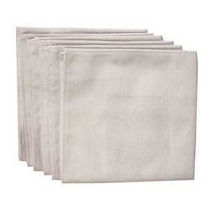 Изображение Набор белых салфеток