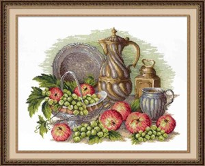 Изображение Натюрморт с виноградом