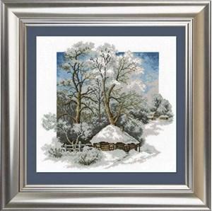 Изображение Зима в деревне