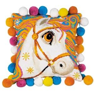 Изображение Златогривая лошадка (Подушка)