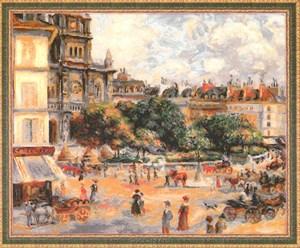 Изображение Площадь Троицы. Париж Пьер Огюст