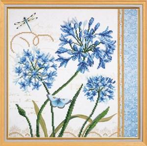 Изображение Голубые цветы