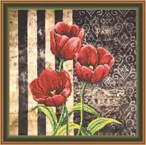 Изображение Красные тюльпаны