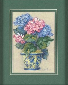 Изображение Яркая гортензия (Colorful Hydrangea)