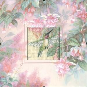 Изображение Колибри и фуксия (Hummingbird Grace)