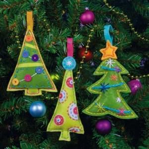 Изображение Елки Елочные игрушки (Cheery Trees Ornaments)