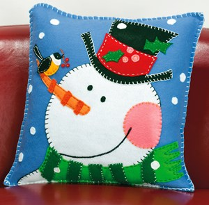 Изображение Снеговик Подушка (Snowman Pillow)