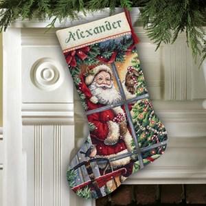 Изображение Конфета Санты Рождественский чулок (Candy Cane Santa)