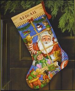 Изображение Игрушки Санты Рождественский чулок (Santa's Toys Stocking)