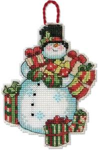 Изображение Снеговик Елочная игрушка (Snowman)