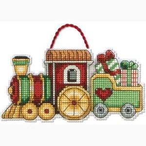 Изображение Поезд Елочная игрушка (Train)