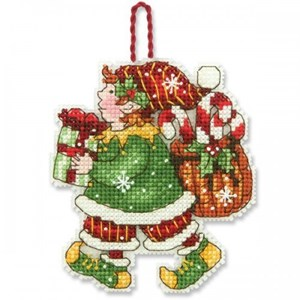 Изображение Эльф Елочная игрушка (Elf)