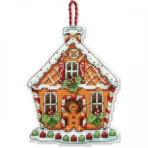 Изображение Пряничный домик Елочная игрушка (Gingerbread House)