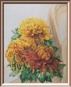 Изображение Японские хризантемы