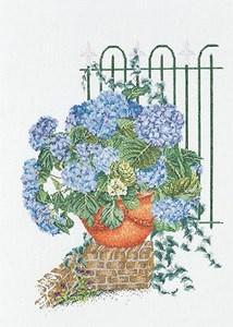 Изображение Голубая гортензия (Blue Hydrangea)