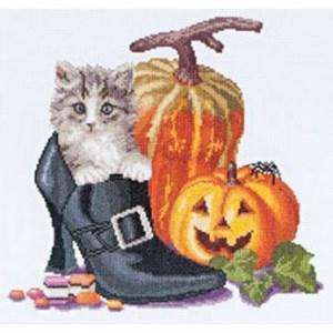Изображение Котенок и Хэллоуин (Halloween Kitten)