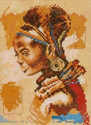 Изображение Африканка (African woman- small)