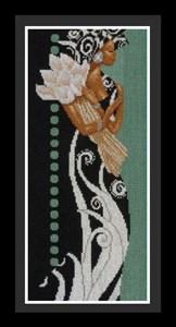 Изображение Африканская леди с цветами (African Lady with Flowers)