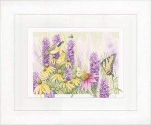 Изображение Бабочка Буш и эхинацея (Butterfly Bush & Echinacea)