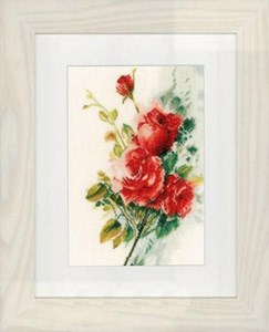 Изображение Букет красных роз (Red Roses Bouquet)