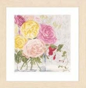 Изображение Пастельные цветы (Pastel Flowers)