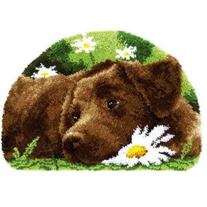 Изображение Шоколадный лабрадор (коврик) (Chocolate Labrador)