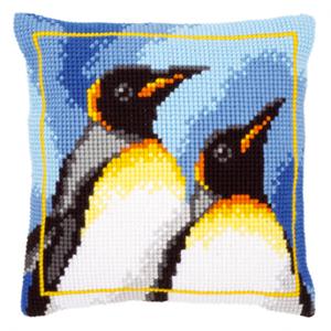 Изображение Королевские пингвины (подушка) (King Penguins)