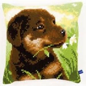 Изображение Щенок ротвейлера (подушка) (Rottweiler Puppy)